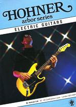 retro magazine advert 1987 HOHNER ARBOR SERIES